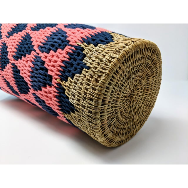 African Woven Vase - Made in Swaziland For Sale - Image 12 of 13
