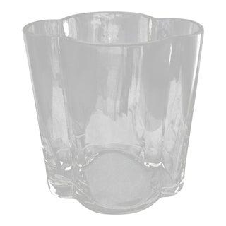 1990s Art Deco Toscanini Handblown Vase For Sale