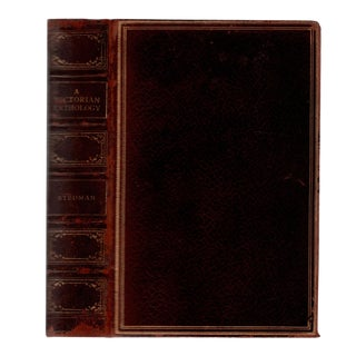 "1895 ""A Victorian Anthology: 1873-1895"" Collectible Book For Sale"
