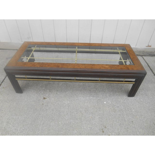 1960s Mid-Century Modern Milo Baughman Style Coffee/ End Table Set - 2 Pc. For Sale - Image 5 of 11