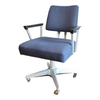 General Fireproofing Industrial Goodform Aluminum Office Chair For Sale