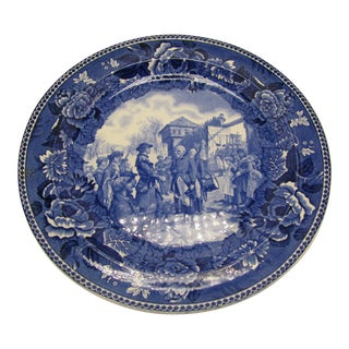 Wedgewood The Capture of Vincennes Plate For Sale