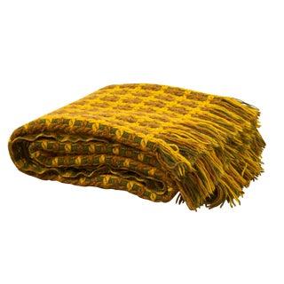 Vintage Pendleton Wool Knit Blanket