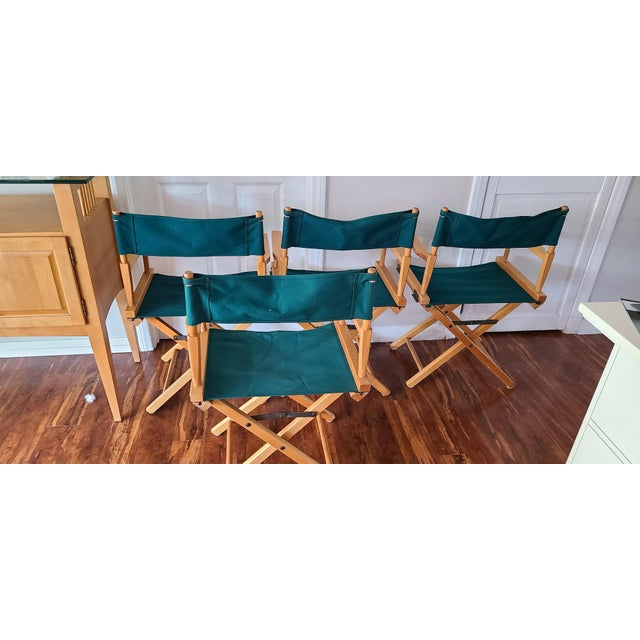 Green Late 20th Century Director's Chair For Sale - Image 8 of 11