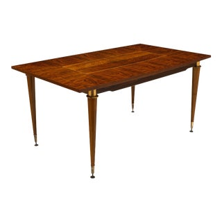 French Modernist Rosewood Dining Table For Sale