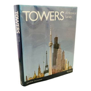 """1989 """"Towers a Historical Survey"""" First American Edition Rizzoli Architecture Book For Sale"""