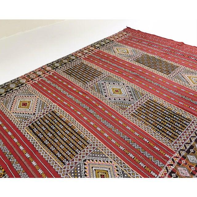 Moroccan Handmade Kilim Rug - 7′6″ × 11′6″ - Image 2 of 11