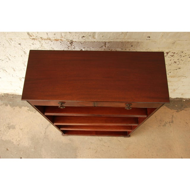 Vintage Imperial Mahogany Bookcase - Image 5 of 8