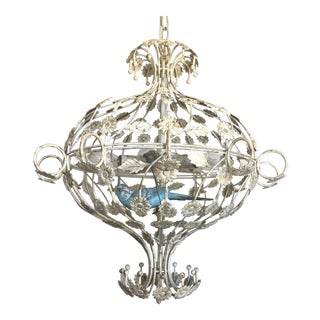 Italian Birdcage Chandelier For Sale