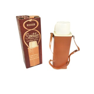 Spectator Mid-Century Thermos & Carry Case