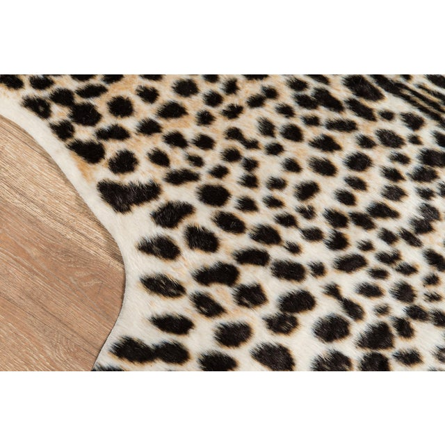 """Modern Erin Gates by Momeni Acadia Cheetah Multi Faux Hide Area Rug - 5'3"""" X 7'10"""" For Sale - Image 3 of 8"""