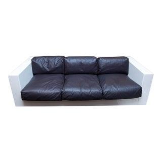 Mid-Century Modern Fiberglass Sofa For Sale