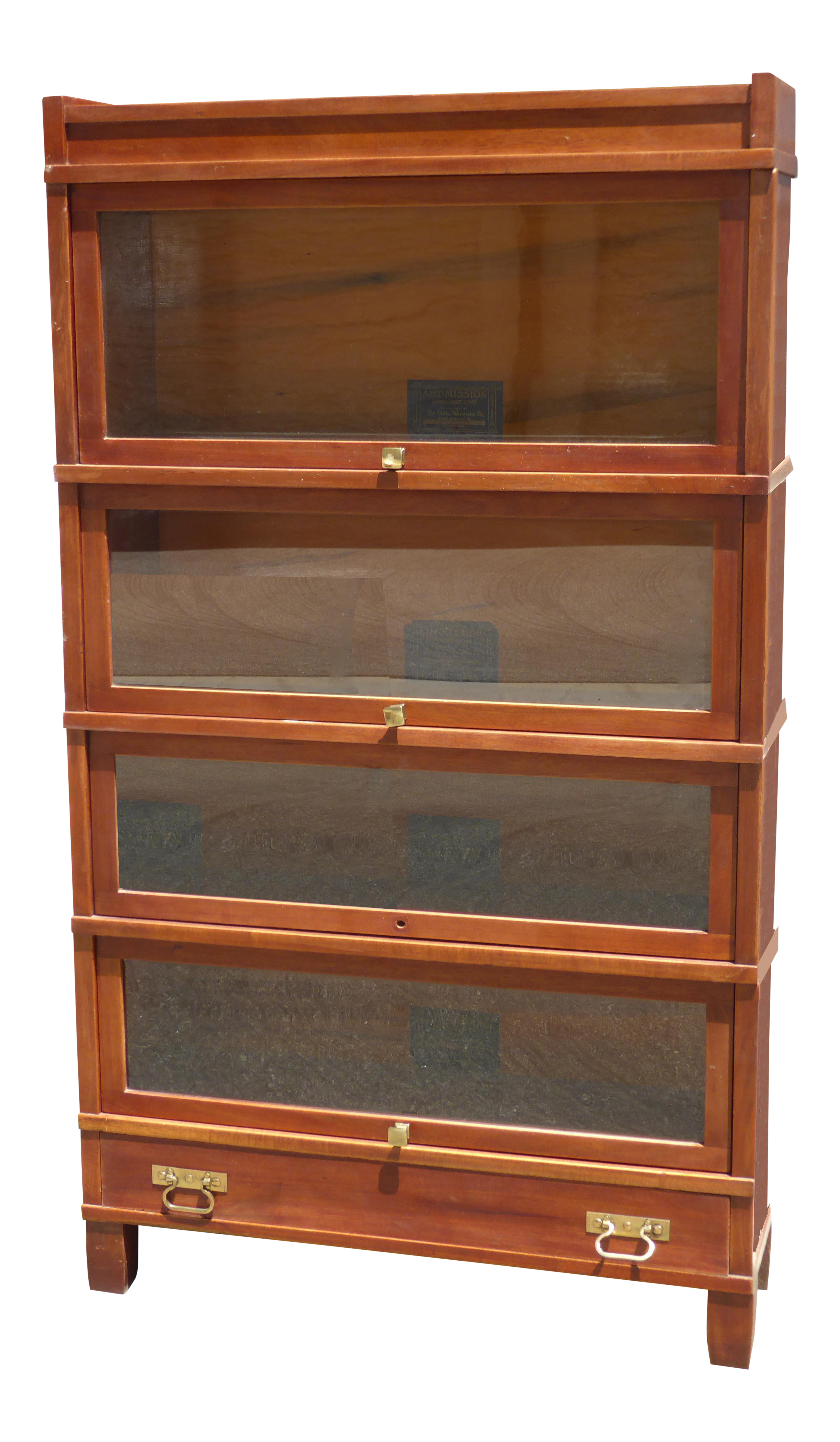 Vintage Globe Wernicke Co Lawyers Barrister Bookcase