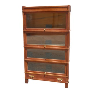 Vintage Globe Wernicke Co. Lawyers Barrister Bookcase For Sale