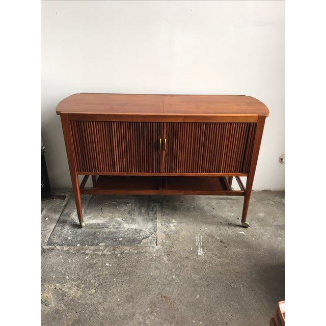 Mid-Century Drexel Bar Cart by Kipp Stewart - Image 2 of 7