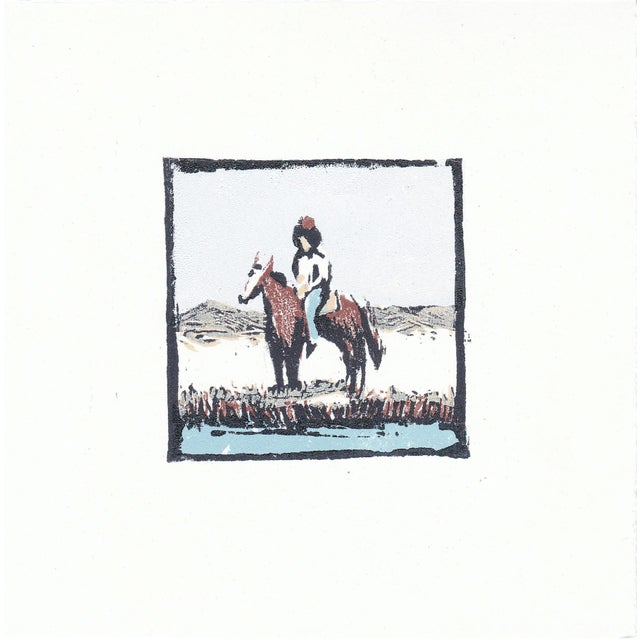 """Michelle Farro """"Frontier"""" Limited Edition Woodblock Print by Michelle Farro For Sale - Image 4 of 7"""