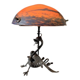 Early 20th Century Art Nouveau Table Lamp For Sale