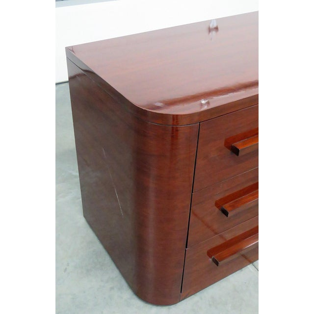 Wood Ralph Lauren Contemporary Nightstand For Sale - Image 7 of 11
