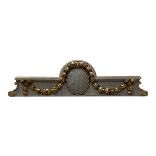 Late 19th Century French Pediment For Sale