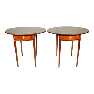Pair of Pembroke Drop Leaf Side Tables