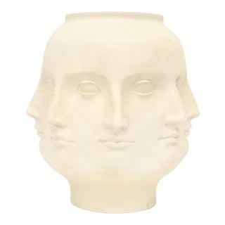 2005 TMS Fornasetti Style Perpetual Dora Mara Face Vase