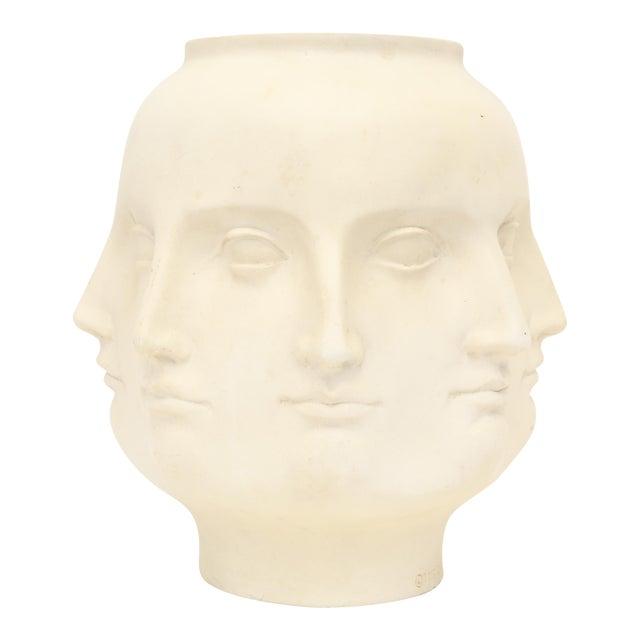 2005 TMS Fornasetti Style Perpetual Dora Mara Face Vase For Sale