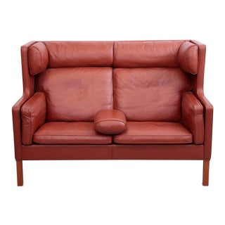 Børge Mogensen Coupe Leather Sofa, 2192, Fredericia, Denmark