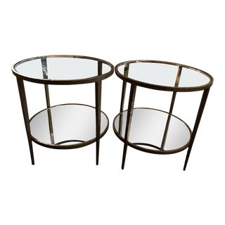 Clairemont Round Side Tables - A Pair