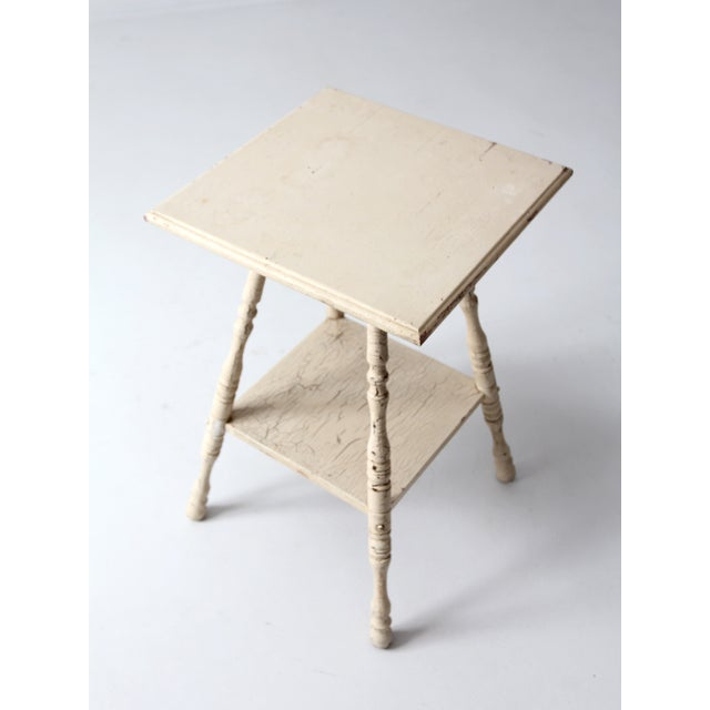 Antique Splayed Leg End Table - Image 3 of 7