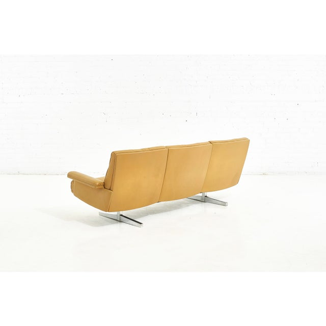 1970s De Sede Leather Ds-P Sofa by Robert Haussmann, Switzerland, 1970 For Sale - Image 5 of 9