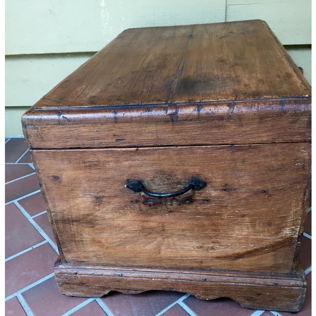 Antique French Trunk - Image 3 of 11