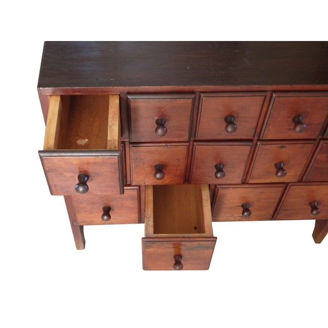 Wood Cubby Dresser For Sale - Image 7 of 9