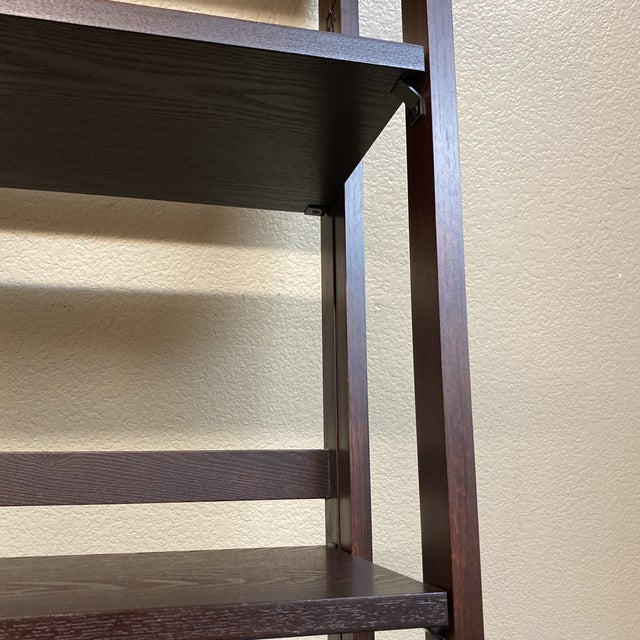 Wood Folding Bookcase For Sale - Image 7 of 11