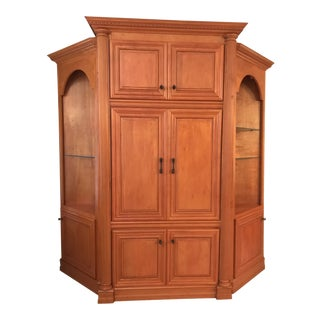 Traditional Custom Made Cabinet For Sale