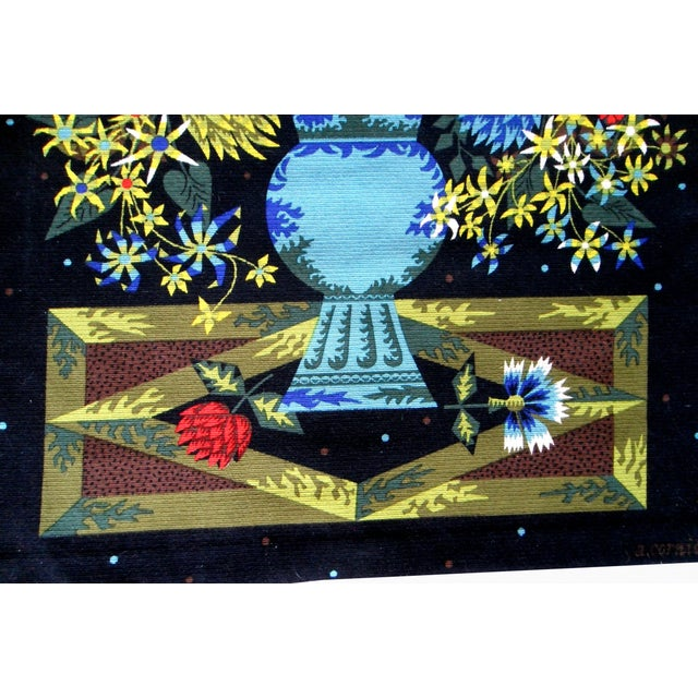 Aubusson Mid-Century Tapestry by Alain Cornic - Image 3 of 8
