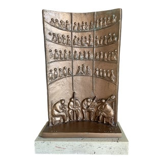 1960s Macri Opera Plaster Sculpture For Sale