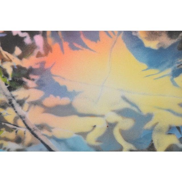 "David T. Kessler ""Reflected Overhang"" Lithograph For Sale - Image 5 of 9"