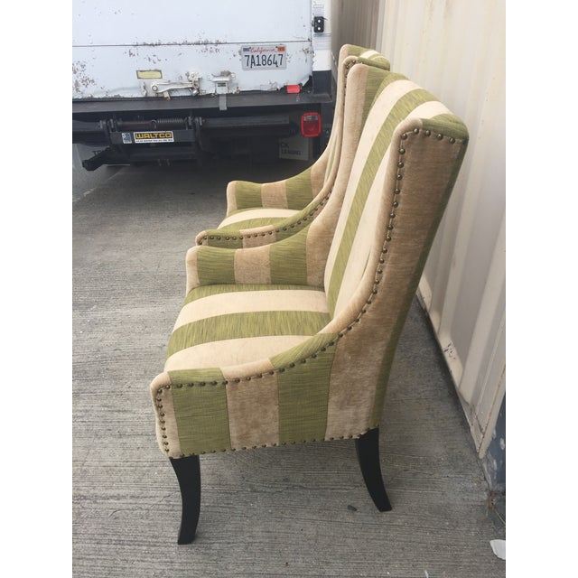 Contemporary Lounge or Dining Chairs a Pair For Sale - Image 3 of 10
