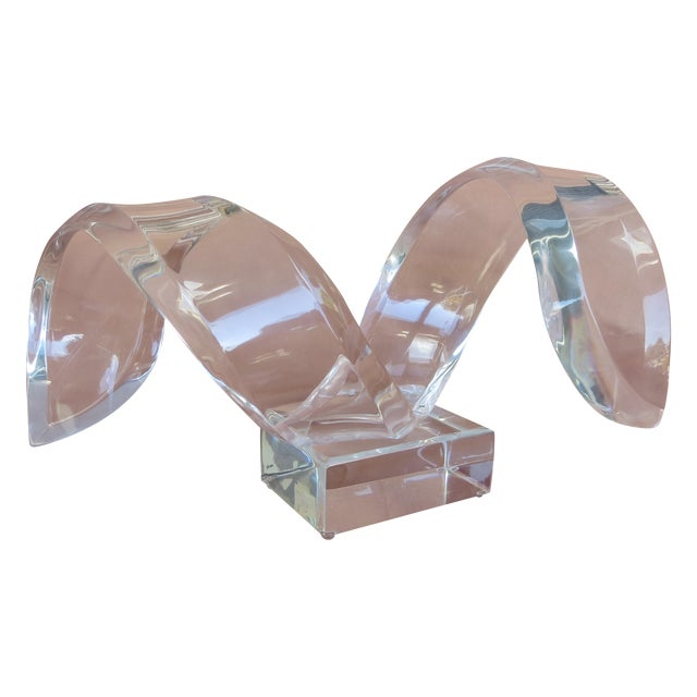 Vintage Lucite Sculpture by Van Teal - Image 1 of 5