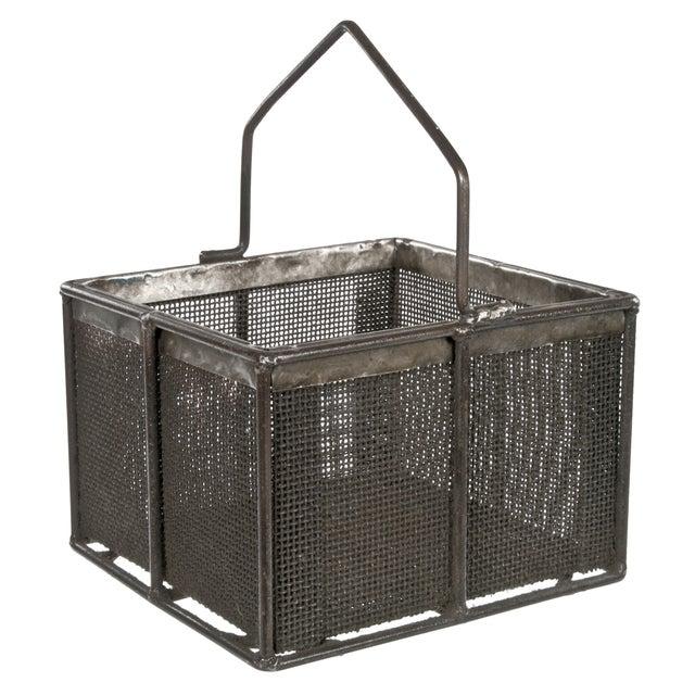 Metal Mesh Basket With Handle - Image 2 of 3
