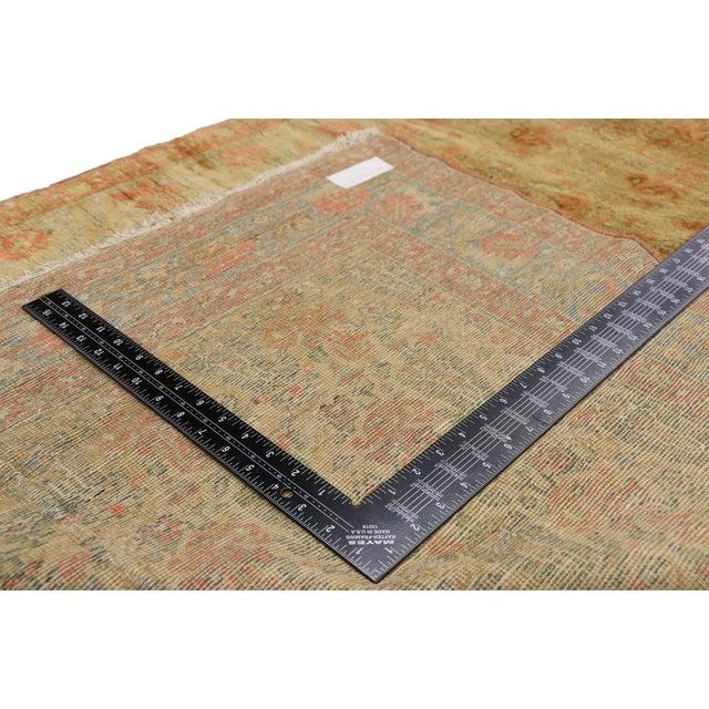Antique Persian Mahal Long Persian Carpet Runner - 03'09 X 28'04 For Sale In Dallas - Image 6 of 10