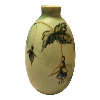 Vontury Porcelain Vase, Signed For Sale