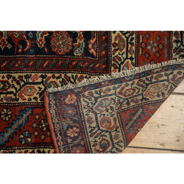 "Antique Fine Malayer Square Rug - 5'8"" x 5'8"" - Image 8 of 10"
