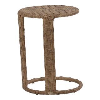 Woven Wicker Tea Tables For Sale