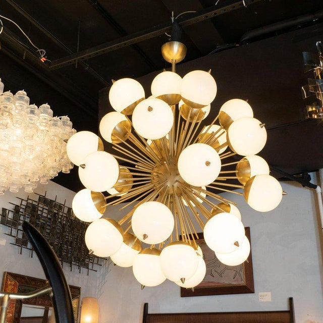 This stunning chandelier was hand blown in Murano, Italy- the island off the coast of Venice renowned for centuries for...