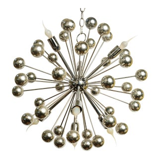 Vintage Sputnik Chandelier For Sale