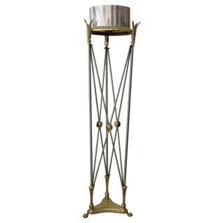 Jardinière Stand Pedestal by Maison Jansen For Sale