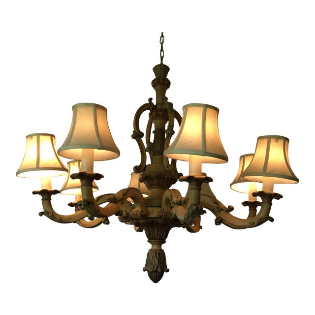 Elegant Beauty Country French Chandelier - Image 1 of 3
