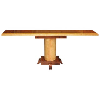 1940s French Art Deco Palisander / Sycamore Console Table For Sale