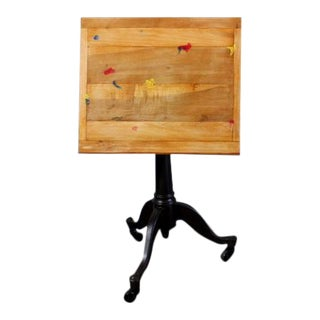 Industrial Style Drafting Table / Easel For Sale